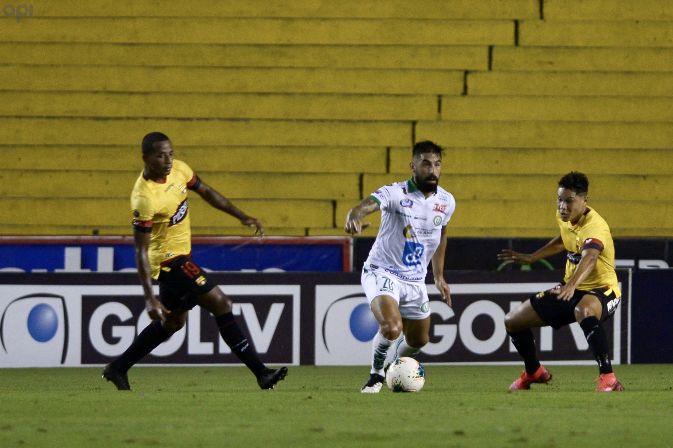 El delantero de Liga de Portoviejo se refirió a sus objetivos con el cuadro manabita y su trabajo físico en la pretemporada