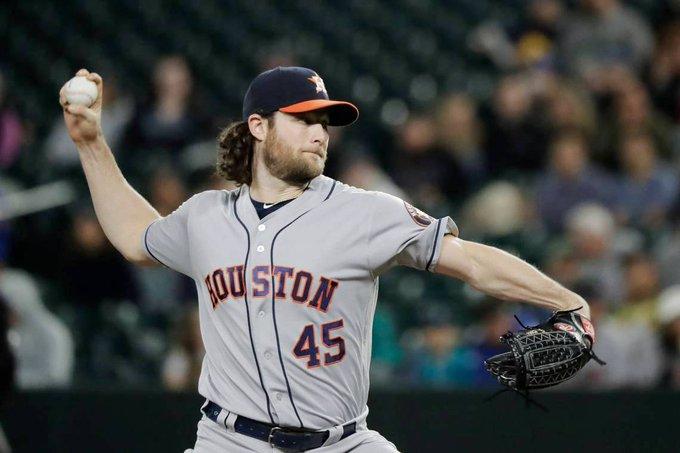 Cole ponchó a 14 bateadores rivales y no dio boletos, en siete entradas de labor con dos imparables que permitieron a los Astros vencer 3-0 a los Marineros de Seattle