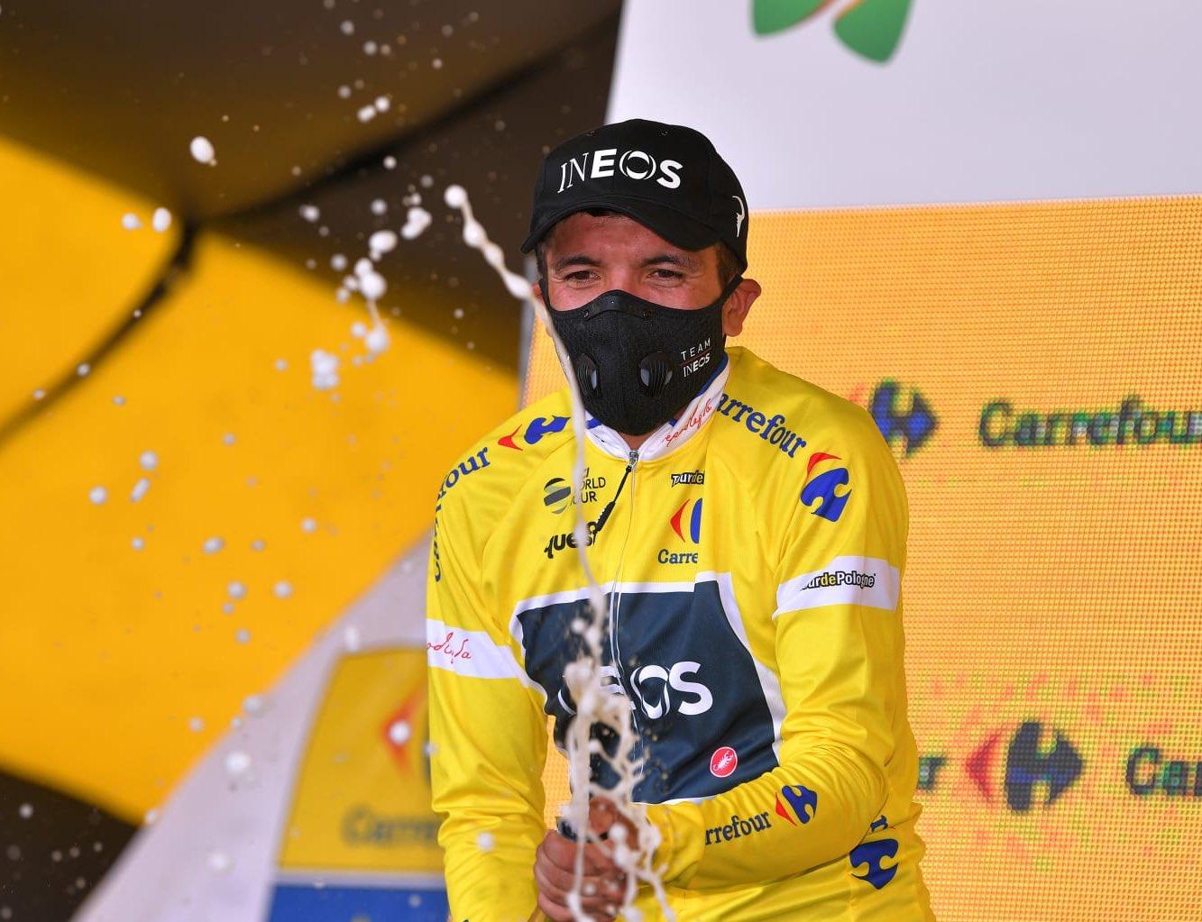 El ecuatoriano le saca cuatro segundos de ventaja a sus seguidores a dos etapas del final