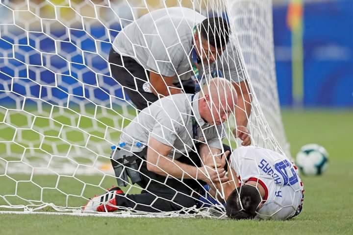 El volante había sufrido un traumatismo en el codo del brazo izquierdo durante el partido que la Albirroja empató contra Catar
