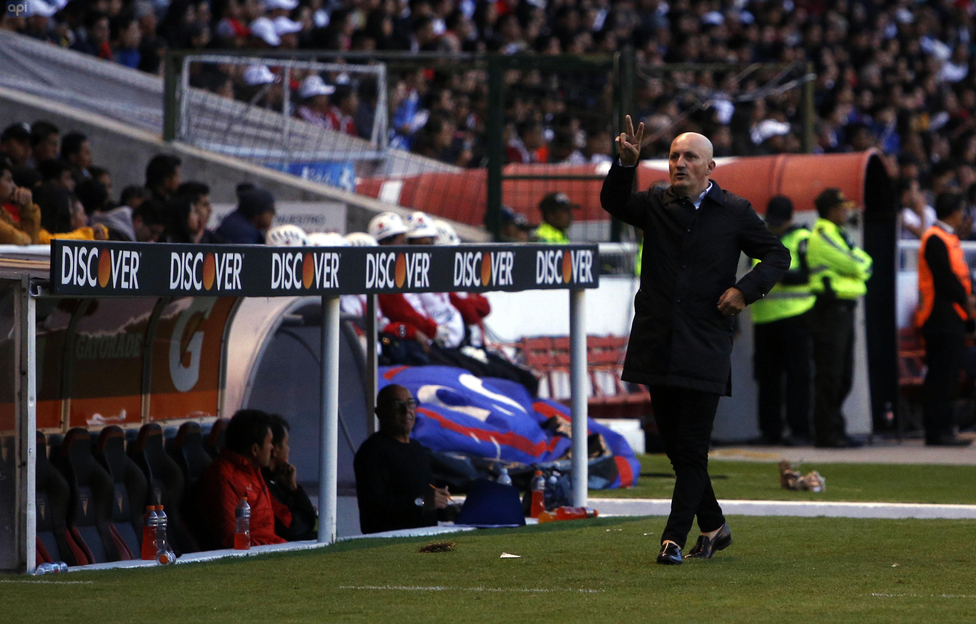 Pablo Repetto, derrota ante Flamengo y el objetivo en las próximas cuatro jornadas