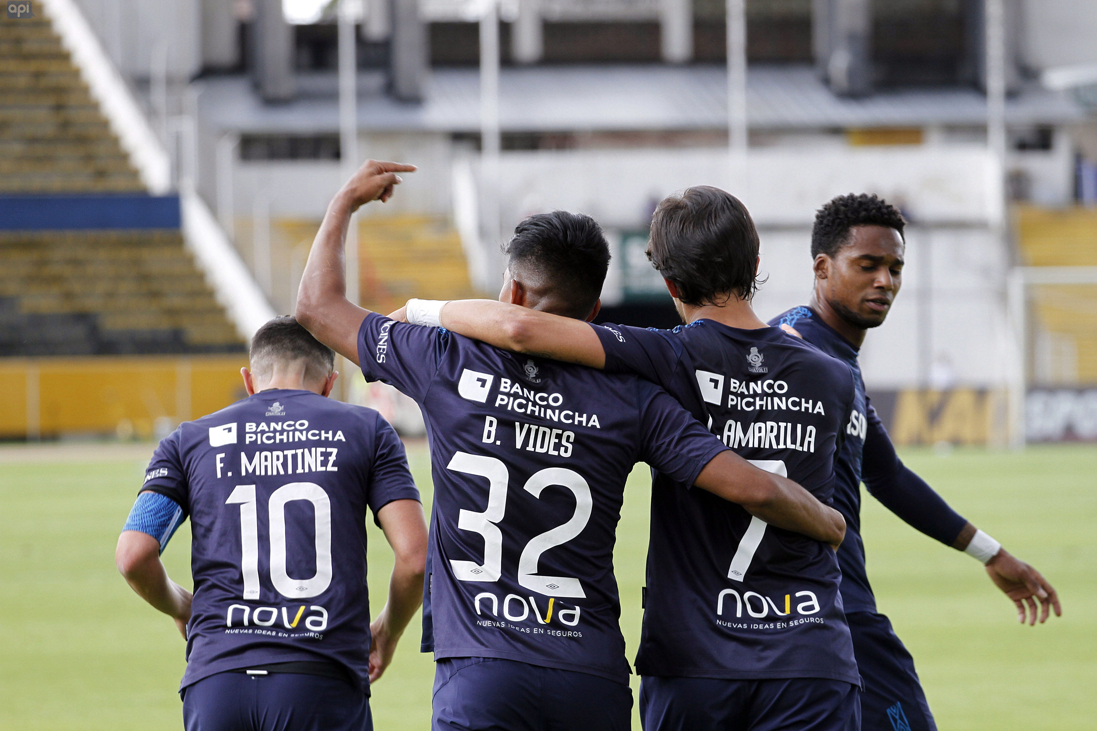 En un partido poco atractivo, Universidad Católica sumó de a tres frente a un Guayaquil City sin poder ofensivo.