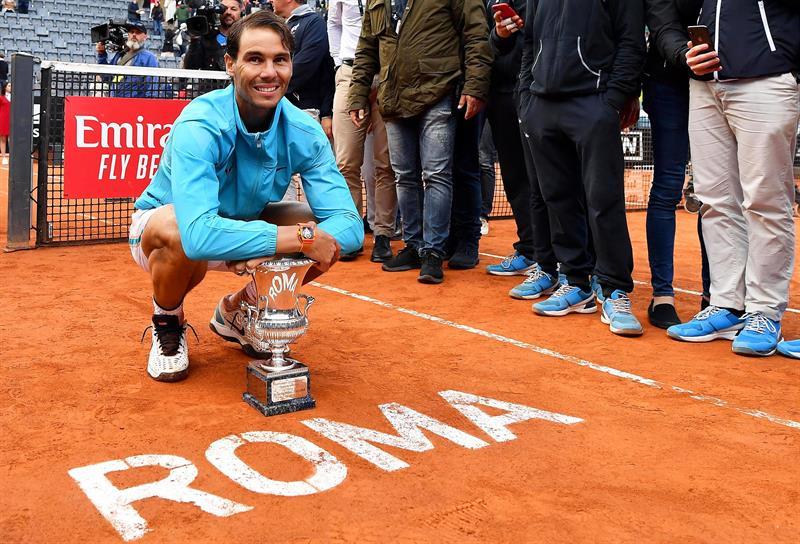 El español venció en la final en tres sets a Novak Djokovic
