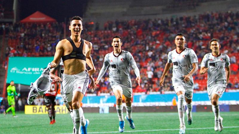 Atlas destaca el gol que hizo Manuel Balda el pasado sábado y salvó de la derrota a su equipo ante los Xolos