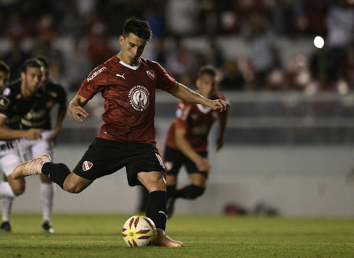 Ariel Holan destacó a Gaibor tras ser elegido el mejor jugador del partido entre Independiente y San Martín de Tucumán