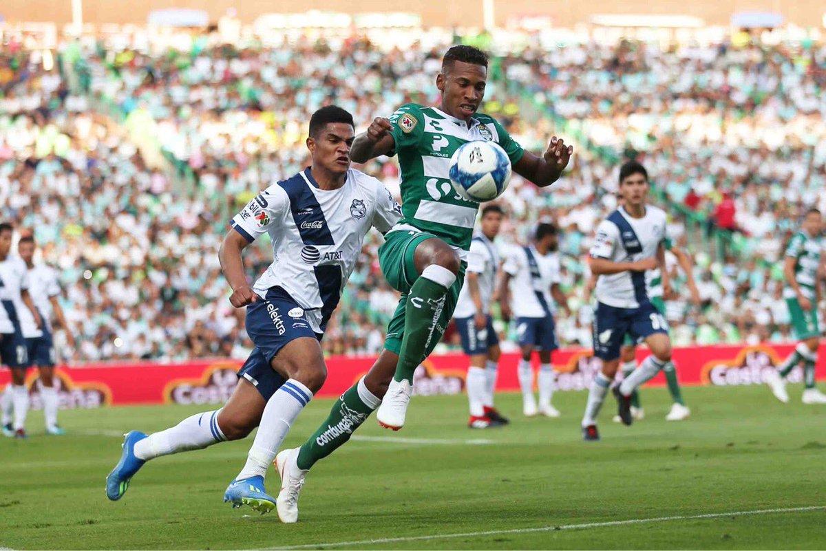Santos y América empataron en duelo de campeones del fútbol mexicano
