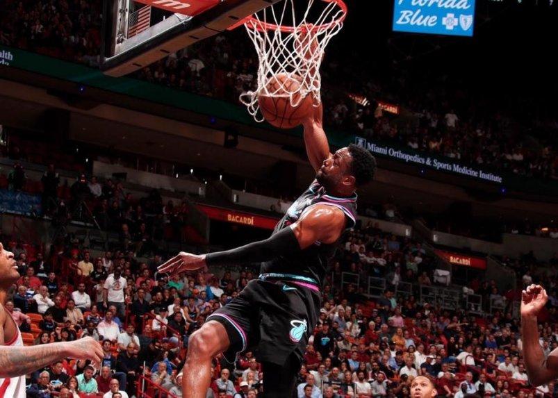 La defensa, que les permitió evitar que el escolta James Harden pudiese hacer el último tiro, dio el triunfo a los Heat por 101-99 a los Rockets