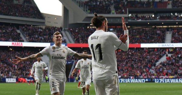 """Bale anotó el tercer tanto madridista ante el Atlético y LaLiga denunció a Competición su comportamiento posterior, por entender que hizo """"un corte de magas"""""""