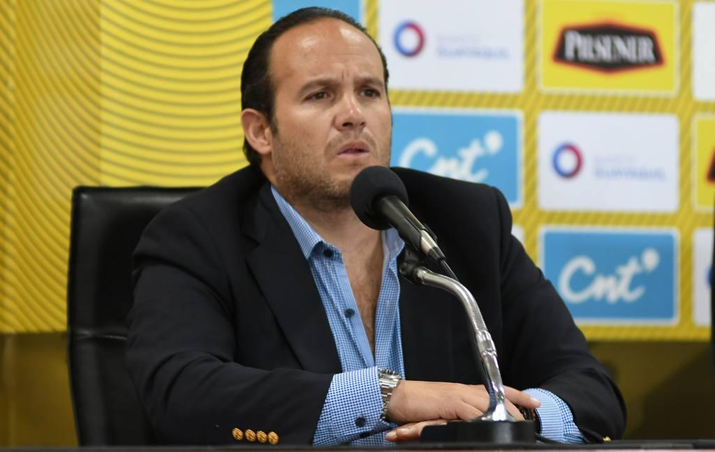 Francisco Egas se refirió al apoyo económico de la Conmebol y el regreso del fútbol en Sudamérica