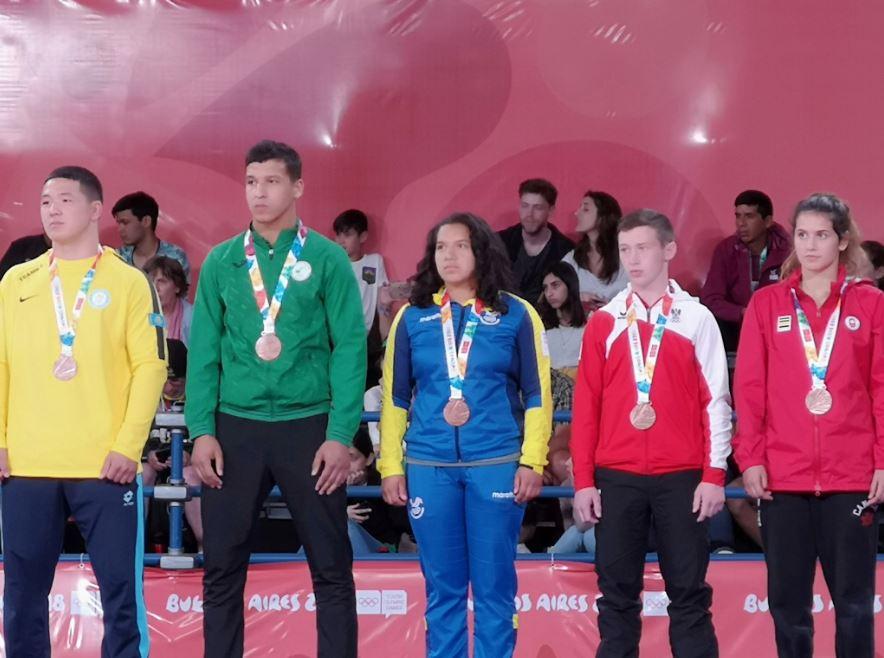 Ecuador consiguió su primera medalla en los Juegos Olímpicos de Buenos Aires por medio de la judoca ecuatoriana Edith Ortiz