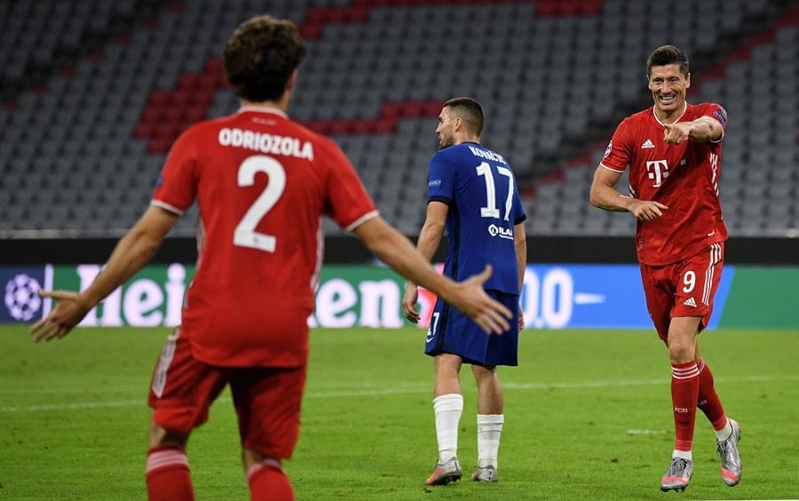 Los alemanes le pasaron por encima a Chelsea, con un global de 7x1