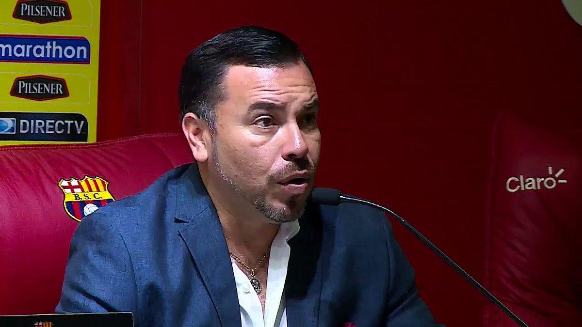 Juan Alfredo Cuentas calma a la afición de Barcelona sobre el estado financiero del club