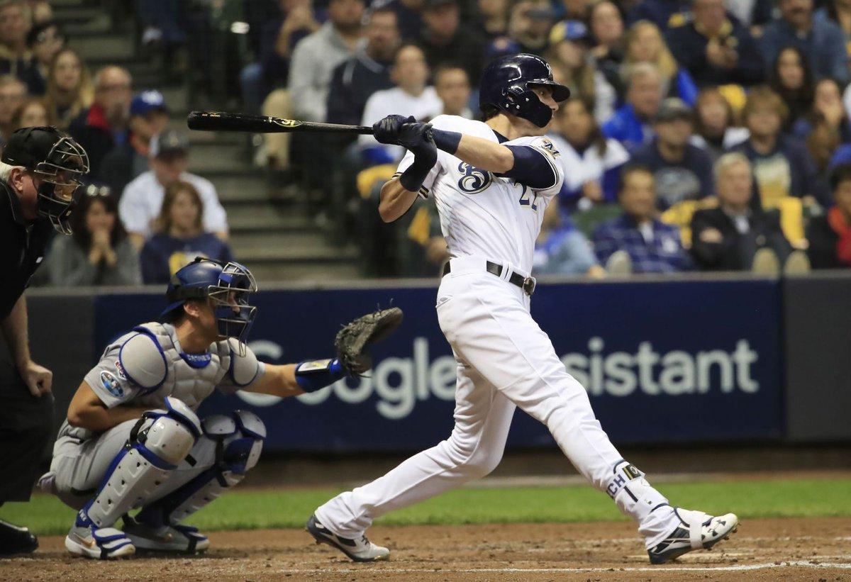Yelich mandó la pelota a la calle para los Cerveceros de Milwaukee que perdieron 8-10 contra los Astros, que aportaron cuatro cuadrangulares