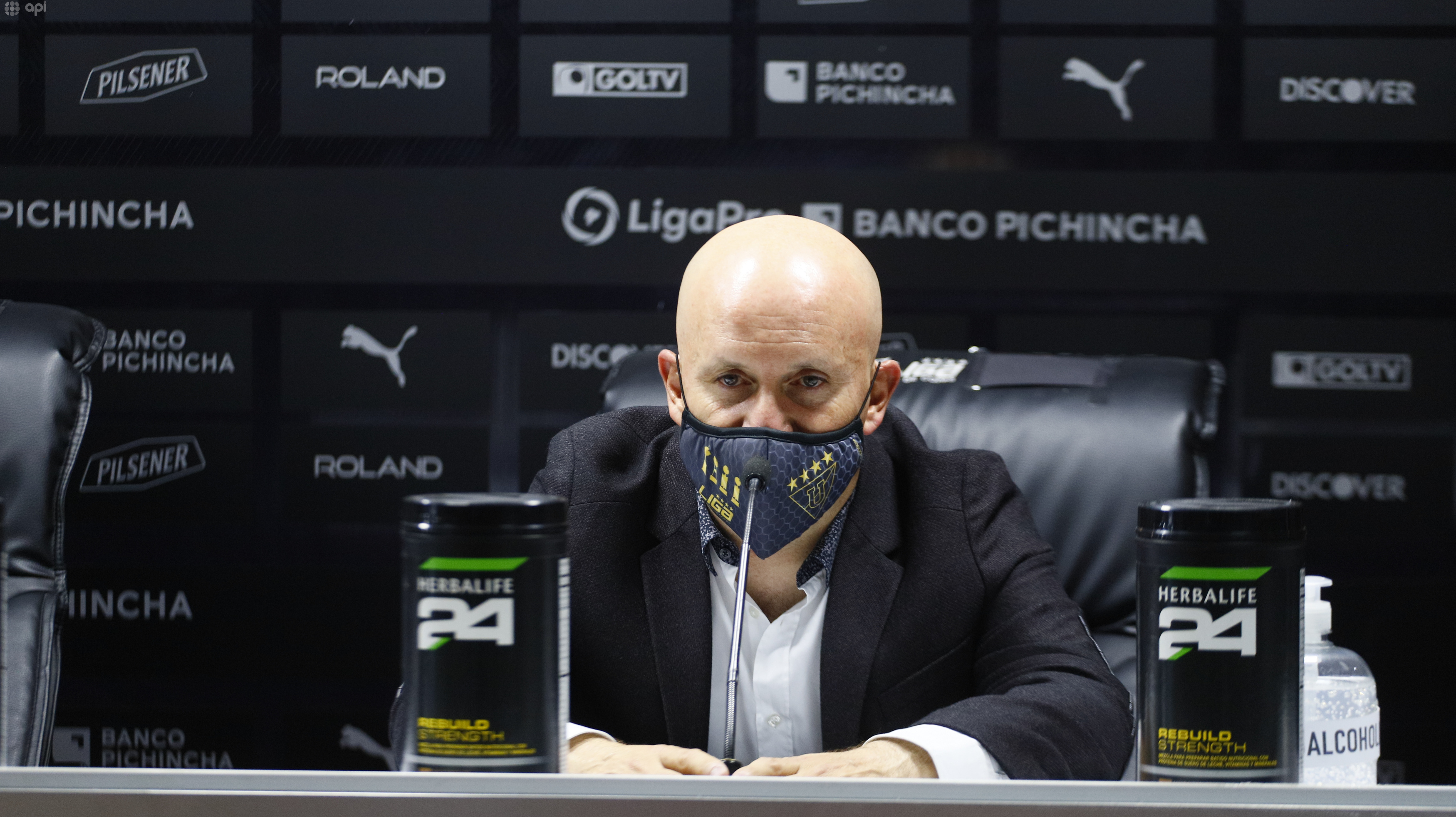 Pablo Repetto analizó la victoria sobre Macará y el desgaste por la seguidilla de partidos
