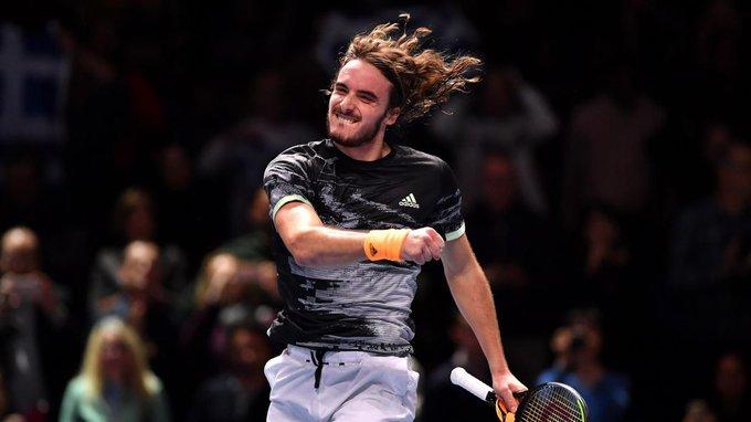 A sus 21 años es el primer griego en ganar las Finales ATP al remontar este domingo y vencer al austríaco Dominic Thiem