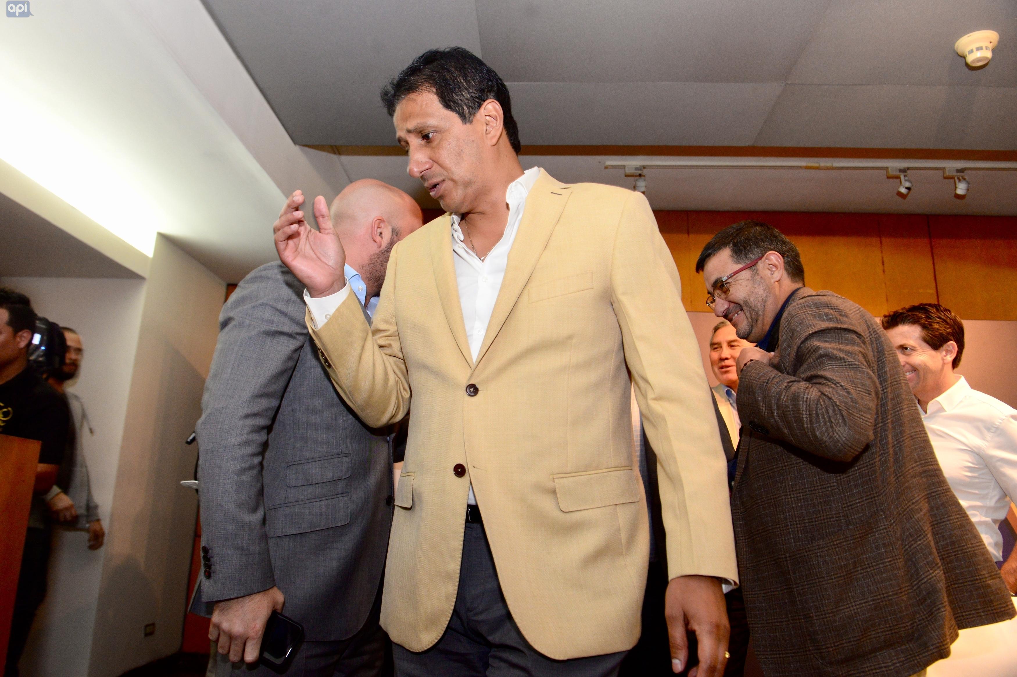 José Francisco Cevallos confía en una respuesta favorable de Conmebol sobre la supuesta irregularidad con la inscripción de Sebastián Pérez