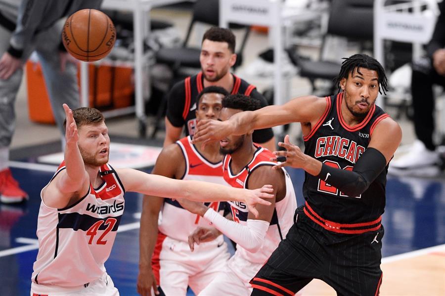 Se siguen disputando intensas jornadas en la NBA