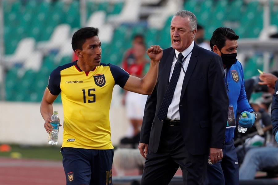 Hay mucha expectativa tras el exitoso inicio del entrenador argentino al frente de la selección ecuatoriana