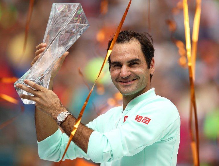 El suizo se coronó campeón en Miami tras vencer al estadounidense John Isner y logró su cuarto título en este torneo