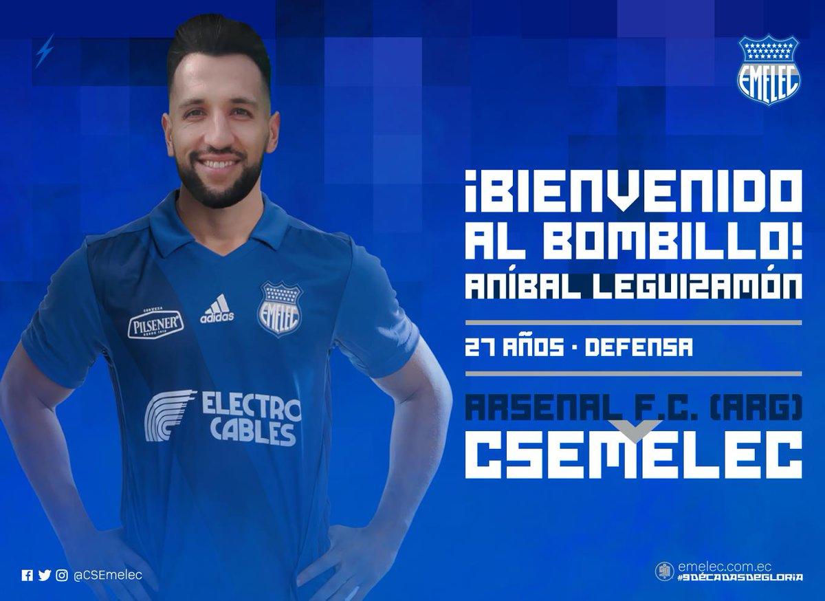 El zaguero argentino de 27 años es el nuevo elemento de Emelec con contrato de un año