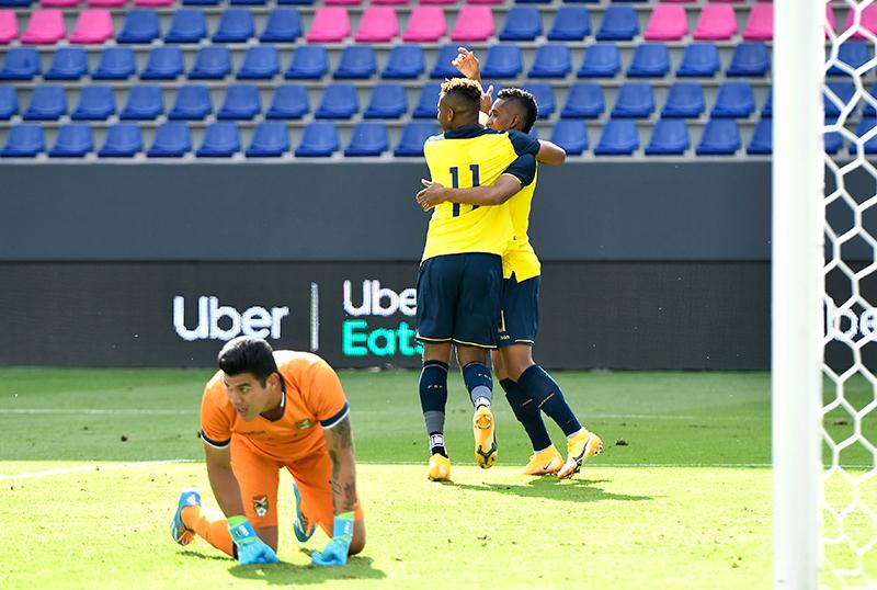 El partido marcó el esperado debut de Damián Díaz en la selección nacional