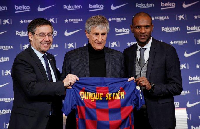 El español fue presentado oficialmente como el nuevo DT del Barcelona