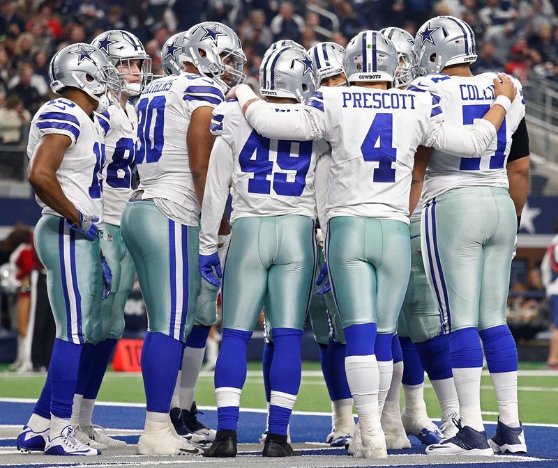 El partido no tuvo ningún significado para los campeones de la División Este de la Conferencia Nacional, los Cowboys