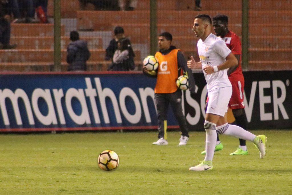 Liga de Quito podría quedarse sin su refuerzo extranjero, Hernán Pellerano, quien admitió tener propuestas en Paraguay