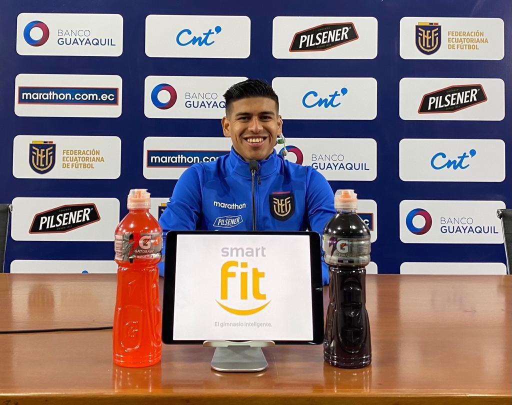 El zaguero ecuatoriano tiene confianza en que el equipo logre buenos resultados